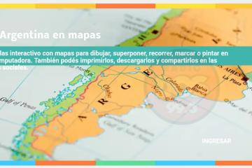 Mapas de la Argentina para descargar