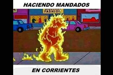 calor en corrientes memes.jpg