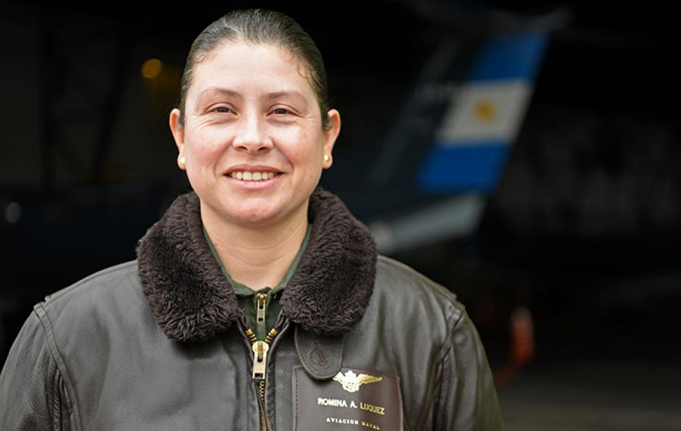 Orgullo: Una correntina es la única mujer radarista en Base Aeronaval de la Armada