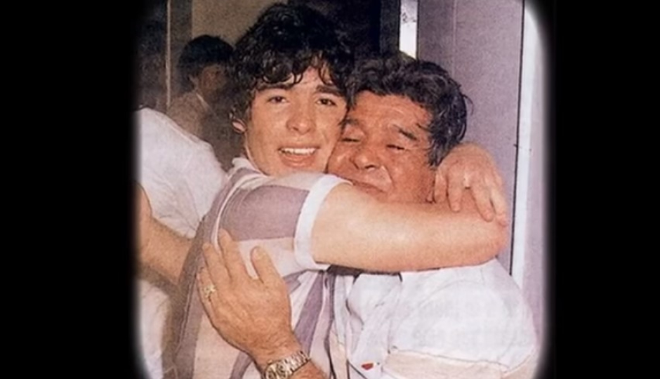 Maradona otra vez abuelo: Diego Jr presentó a India Nicole