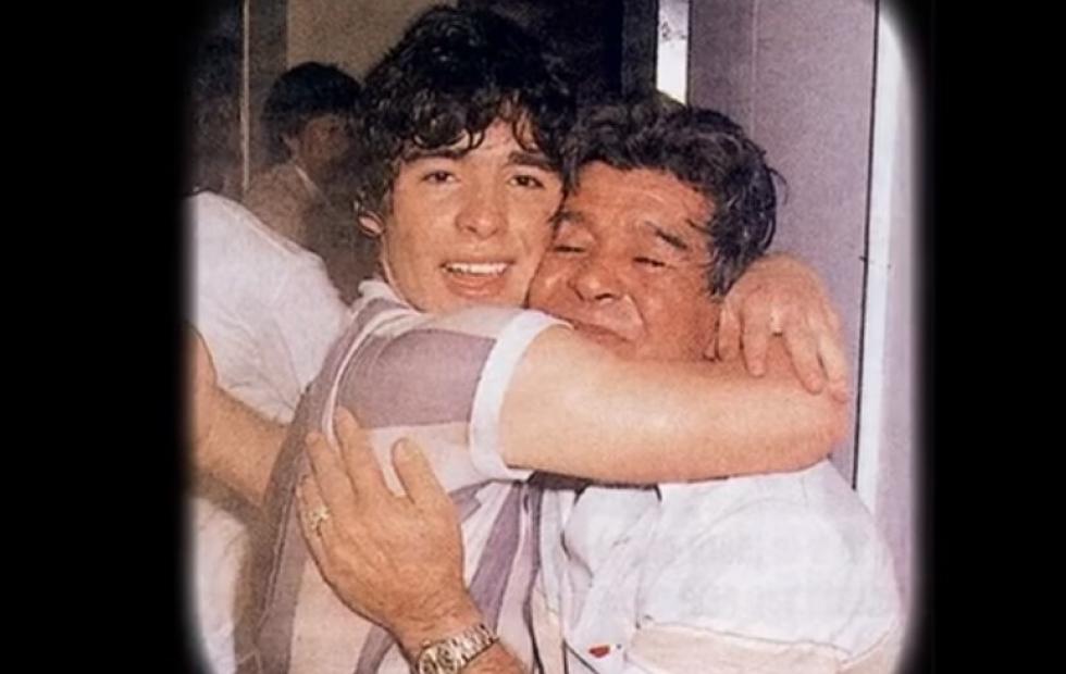 Cumple de Don Diego: el emotivo video que compartió Maradona recordando a su padre correntino