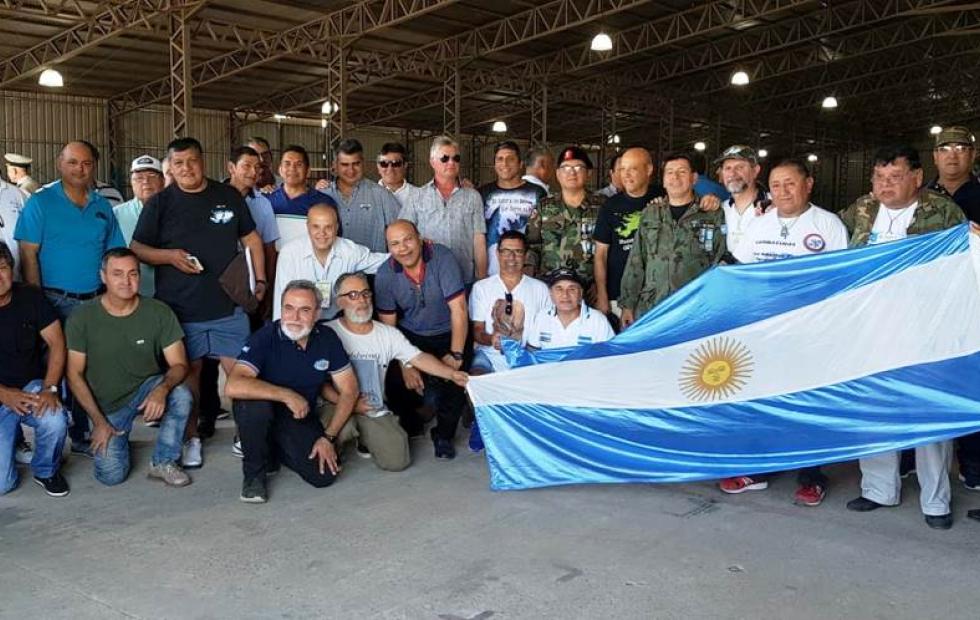 Video: Emoción y argentinidad en Goya en el Encuentro Nacional de Veteranos de Malvinas