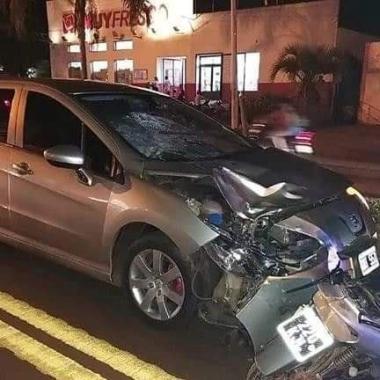 Corrientes: Perdió la pierna luego de ser chocado por un auto robado en Ruta 14