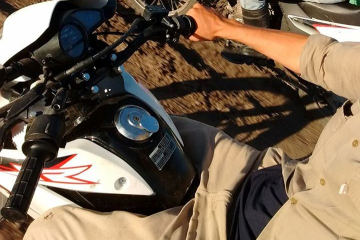 Corrientes: Joven motociclista grave tras accidente en Ruta 12