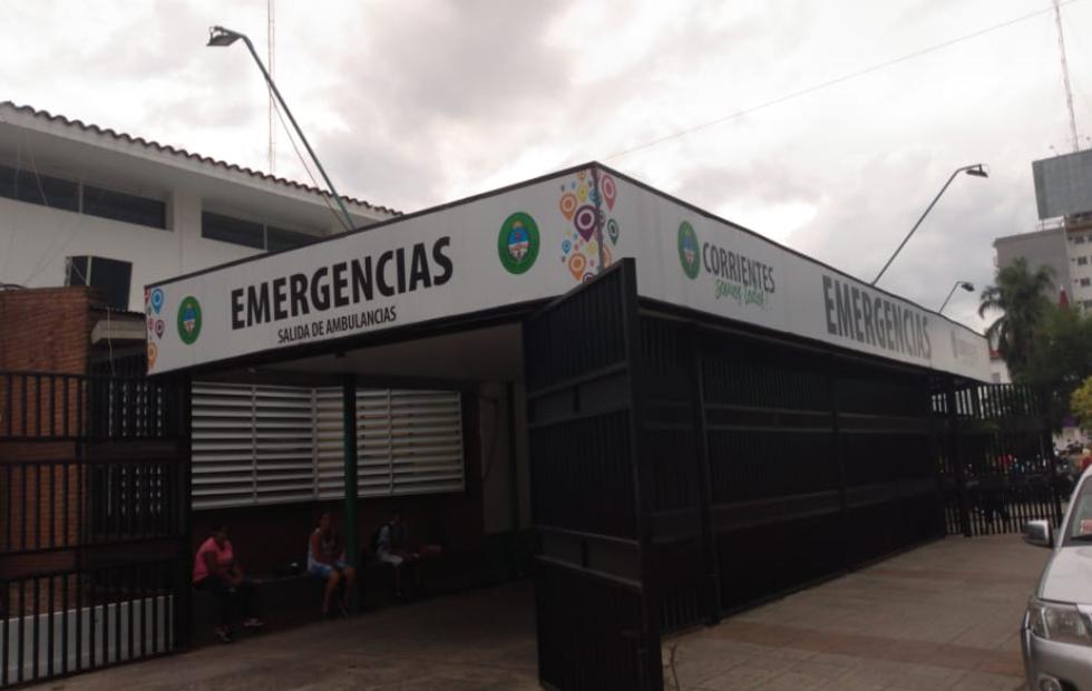 Buscan identificar a un hombre internado en Corrientes