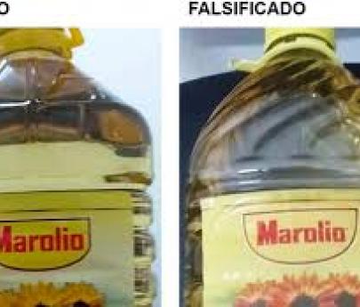 La Anmat prohibió un falso aceite Marolio
