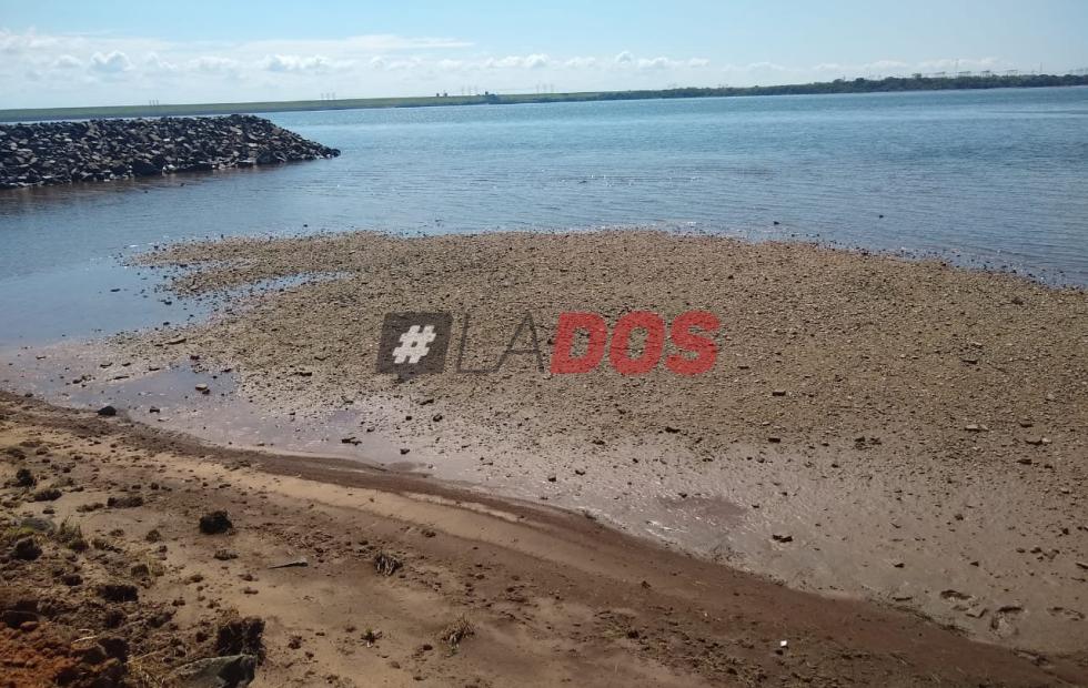 Isla correntina aislada por la bajante del Paraná comienza a tener problemas de abastecimiento