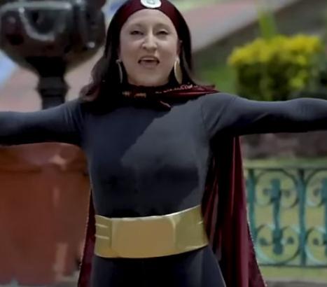 """Susana Distancia"", la heroína mexicana que lucha contra el Covid-19"