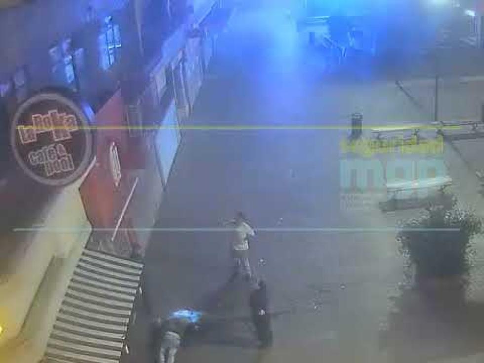 Ladrón herido al intentar escapar de la policía