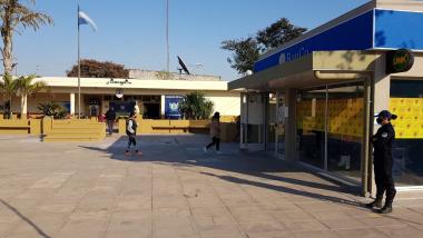 Cajero pagos en Banco de Corrientes