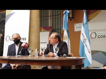 Conferencia de prensa Eduardo Tassano