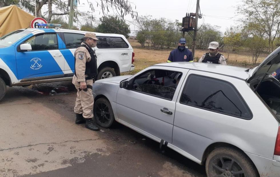 Corrientes: Detienen a presunto cadete de Prefectura con 1650 dosis de marihuana