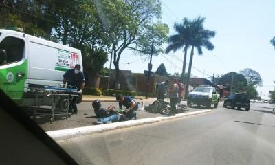 Corrientes: choque entre dos motos deja a tres personas lesionadas