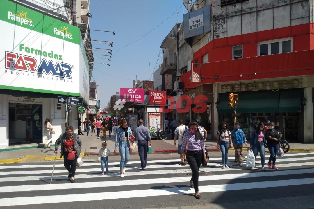 Comercio, junin peatonal Corrientes